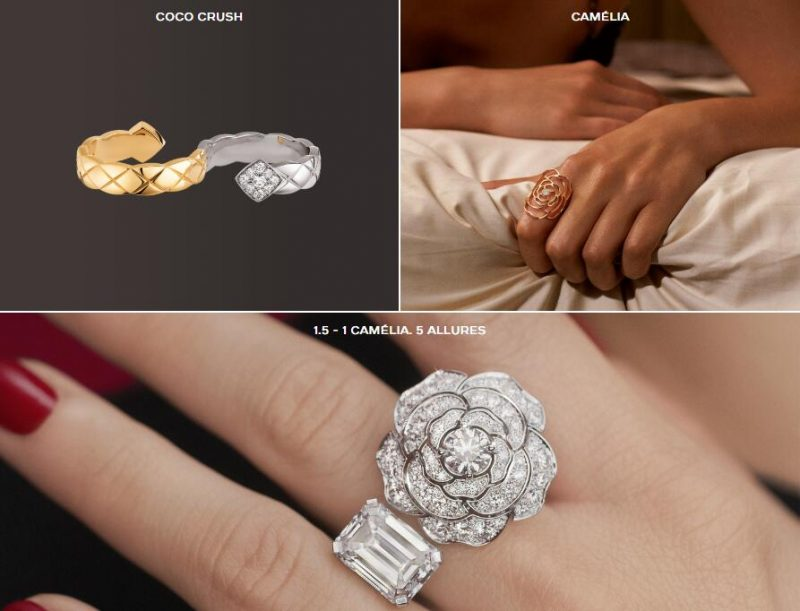 Chanel jewelry gift for her